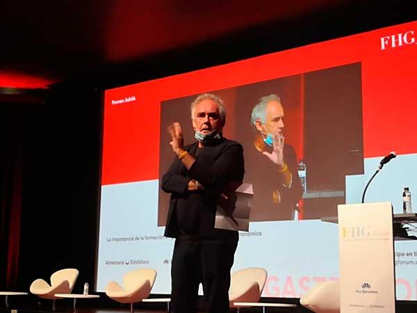 Profesionalhoreca, Ferran Adrià en el FHG Forum