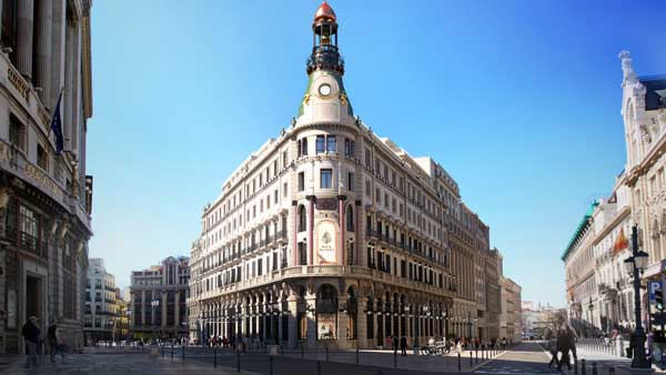 Profesionalhoreca, hotel Four Seasons Madrid, fachada