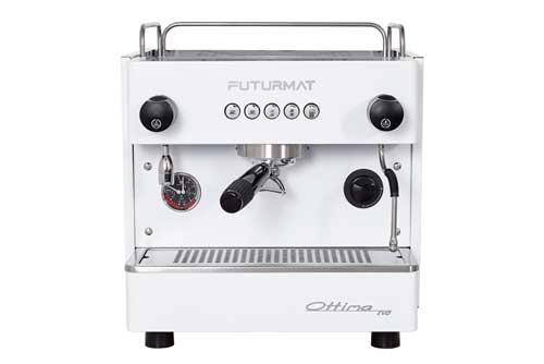 Profesionalhoreca, máquina de café compacta Futurmat Ottima Evo de 1 grupo