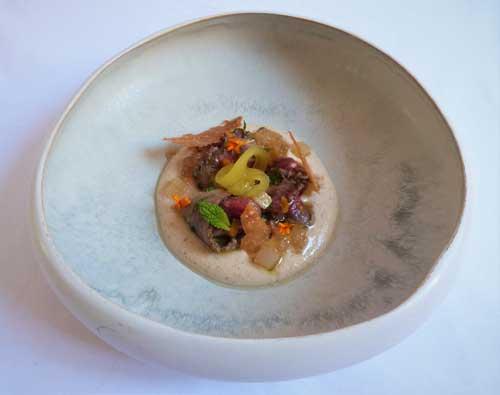 Profesionalhoreca, el plato ganador del primer premio en el Concurso Nacional de cocina D'Aove