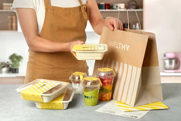 Profesionalhoreca, packaging de Welthy
