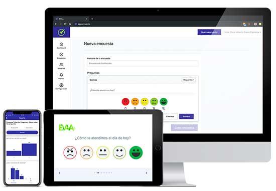 Profesionalhoreca, app de encuestas Evaa