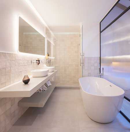 profesionalhoreca, baño del hotel Serawa Alicante