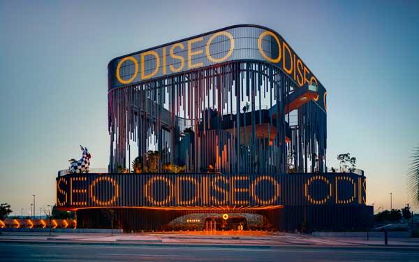 Profesionalhoreca, la espectacular fachada de Odiseo