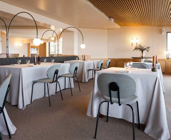 Profesionalhoreca, sillas Hari de Ondarreta en un restaurante