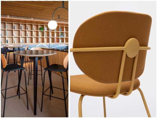 Profesionalhoreca, silla y taburetes altos Hari de Ondarreta