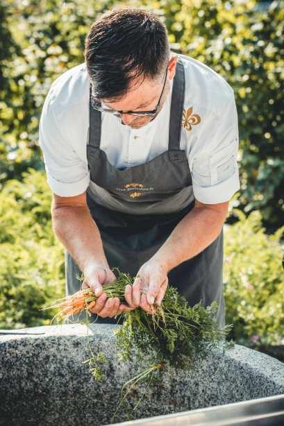 profesionalhoreca, Achim Hack, jefe de cocina del restaurante del hotel alemán Gut Steinbach,
