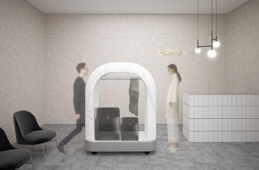profesionalhoreca, cabinas de desinfección para el hotel de Tattoo