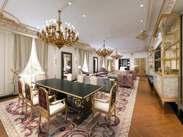 Profesionalhoreca, hotel Mandarin Ritz, salón de la suite Real