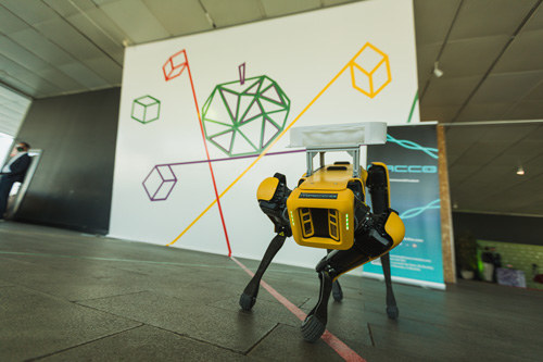 Profesionalhoreca, perro-robot camarero de Macco Robotics