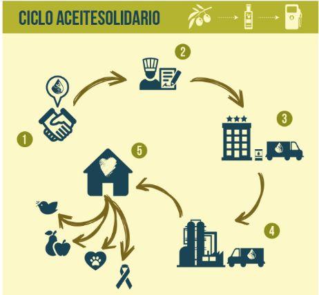 Profesionalhoreca, ciclo del aceite de cocina usado de AceiteSolidario