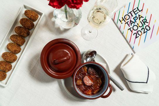 "profesionalhoreca, ""Cocidito a bocados"" (Lago Resort, Menorca), finalista del concurso Tapa Alimentos de España"