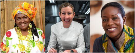 profesionalhoreca, chefs de San Sebastian Gastronomika 2020: Maura de Caldas, Clare Smyth y Selassie Atadika