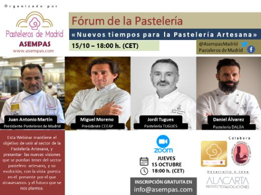 profesionalhoreca, webinar de pasteleria artesana