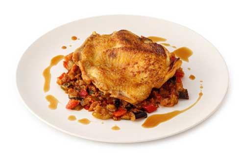 profesionalhoreca, plato de pollo de Bentto