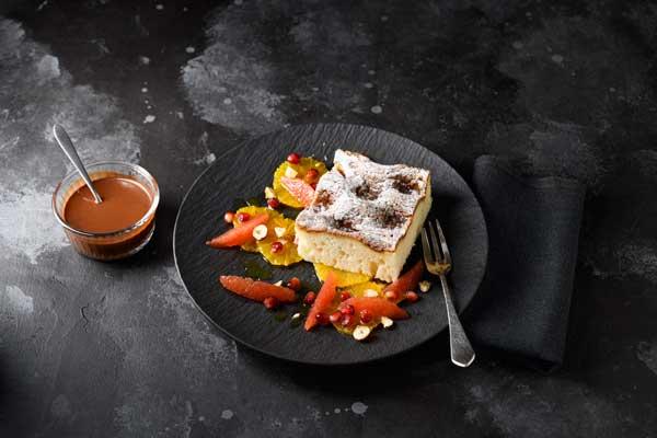 Profesionalhoreca, receta con la tarta de canela y levadura de Erenbacher