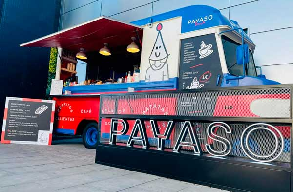 Profesionalhoreca, primer Payaso Truck está en Getafe
