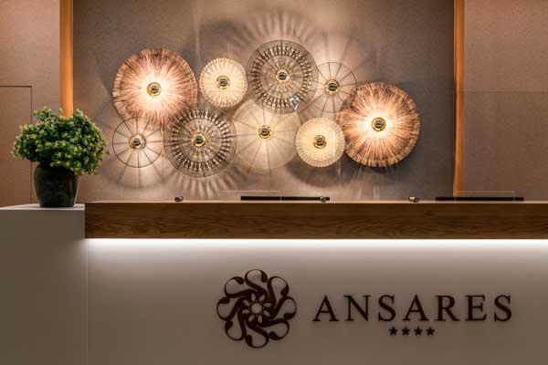 Profesionalhoreca, recepción del hotel Ansares