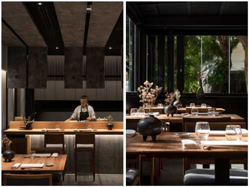 Profesionalhoreca, detalles del restaurante Ta-Kumi de Marbella, proyecto del estudio Paco Lago