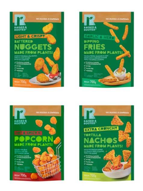Profesionalhoreca, cuatro variedades de los snacks vegetales Raised & Rooted