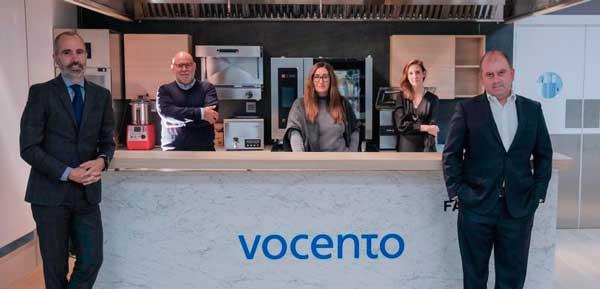 Profesionalhoreca, Iñigo Iribarnegaray, Luis Martí, Patricia Mateo, Lola Montes y Benjamín Lana, al frente de la división de gastronomía de Vocento