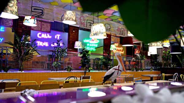 Profesionalhoreca, El colorido interiorismo del nuevo restaurante The Fitz, en La Eliana