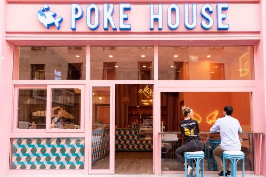 Profesionalhoreca, fachada de un local Poke House