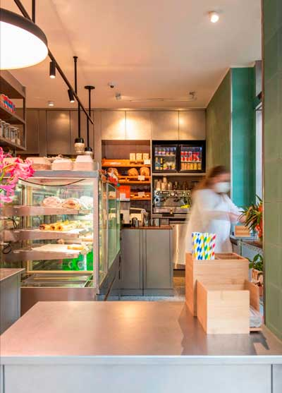 Profesionalhoreca, interior de Funky Bakers