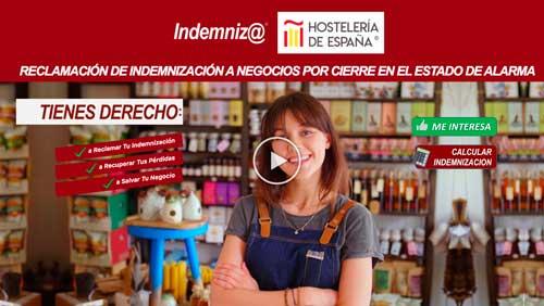 Profesionalhoreca, web de Indemniza y Hostelería de España