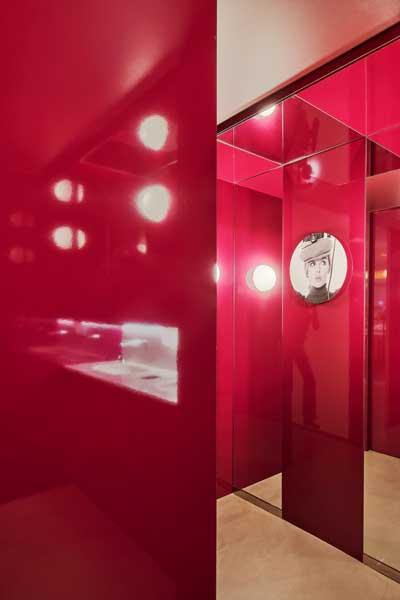 Profesionalhoreca, baño del restaurante Croma by Flash, en Barcelona