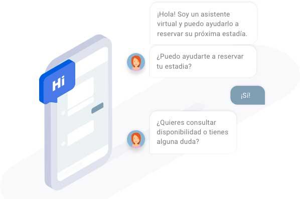 Profesionalhoreca, chatbox o asistente virtual de HiJiffy para el hotel