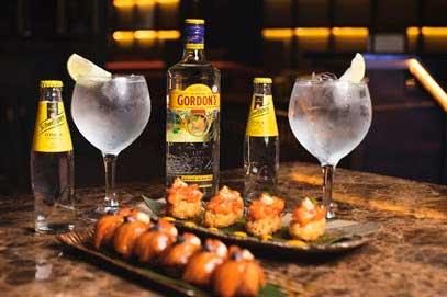 Profesionalhoreca, gin-tonics de Gordon's y Schewppes