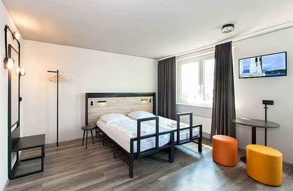 Profesionalhoreca, habitación de la cadena de hostels a&o