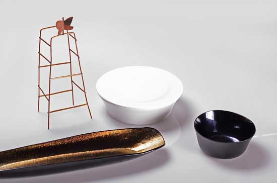 Profesionalhoreca, vajilla de Luesma & Vega diseñada para el restaurante Miramar, de Paco Pérez