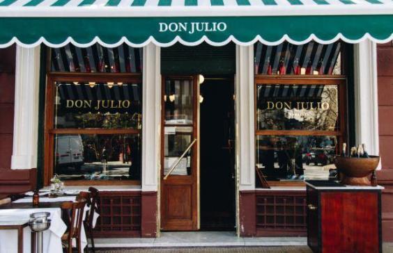 Profesionalhoreca, fachada del restaurante Don Julio