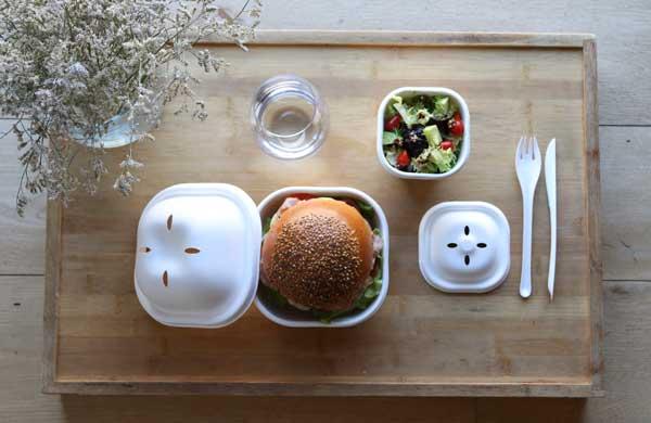 Profesionalhoreca, envases para hamburguesas Eko Burger Set de Cookplay