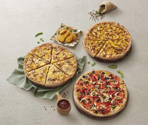 Profesionalhoreca, la gama Las Veguis de Telepizza, con  pizzas y nuggets veganos