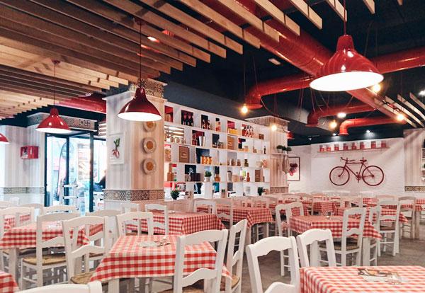 Profesionalhoreca, restaurante de la cadena Pomodoro en Madrid