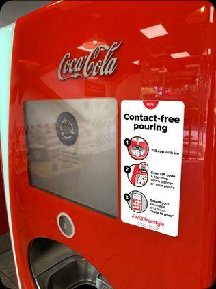 Profesionalhoreca, máquina de autoservicio de Coca-Cola