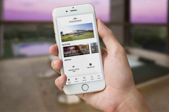 Profesionalhoreca, conserjería virtual en Paradores a través del móvil