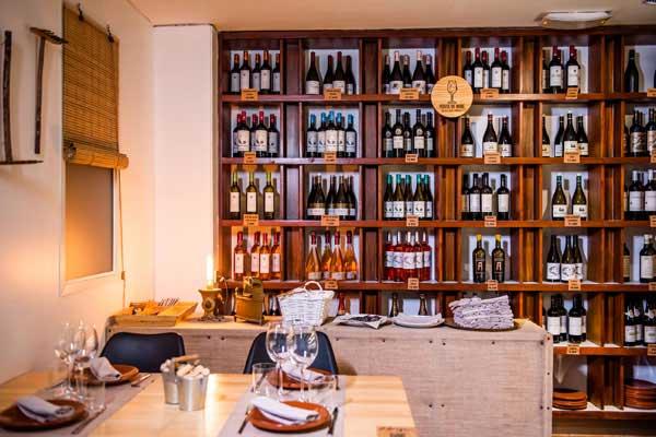 Profesionalhoreca, restaurante y tienda de vinos, en D.Origen