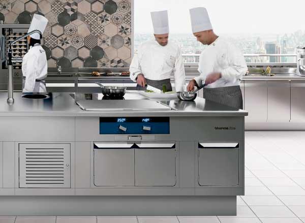 Profesionalhoreca, cocina Thermaline de Electrolux Professional