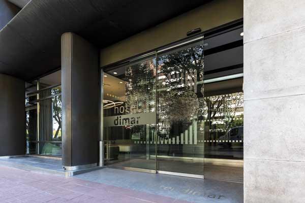 Profesionalhoreca, puerta automática de Giménez ganga en el hotel Dimar de Valencia