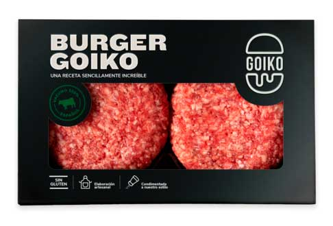 Profesionalhoreca, carne para hamburguesas Goiko