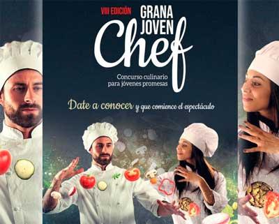 Profesionalhoreca, cartel del concurso GranaJoven Chef 2021