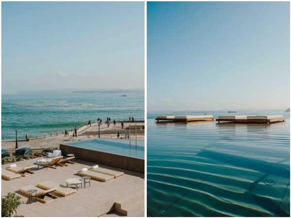 Profesionalhoreca, infinity pool y solárium del hotel Chiqui
