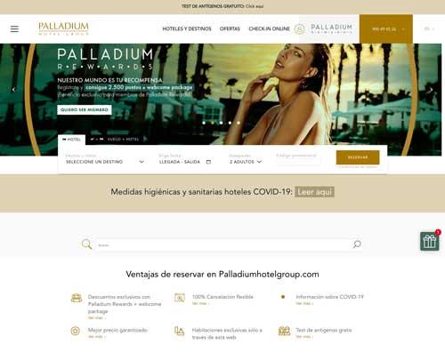 Profesionalhoreca, web de Palladium