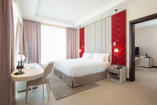 Profesionalhoreca, habitación del hotel Occidental Al Jaddaf, en Dubai