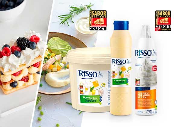 profesionalhoreca, los dos productos Risso Sabor del Año Restauración 2021