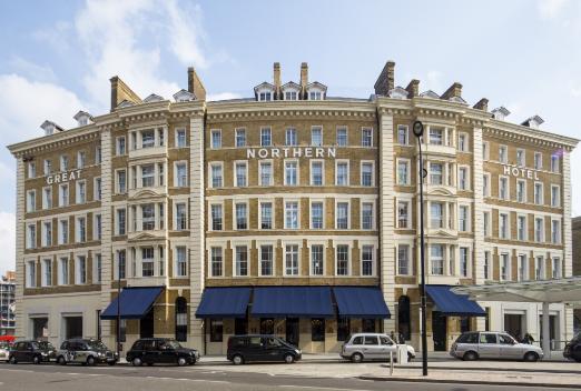 Profesionalhoreca, fachada del The Great Northern Hotel, en Londres